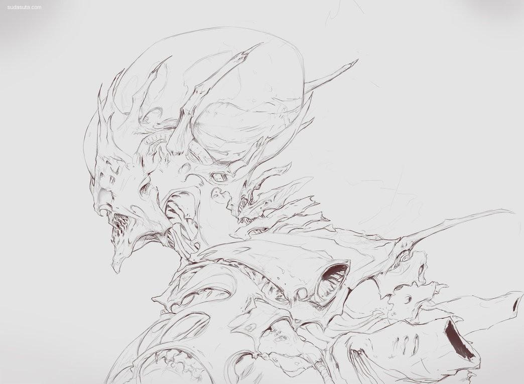 Algido (Yuriy Chemezov) 概念插画欣赏