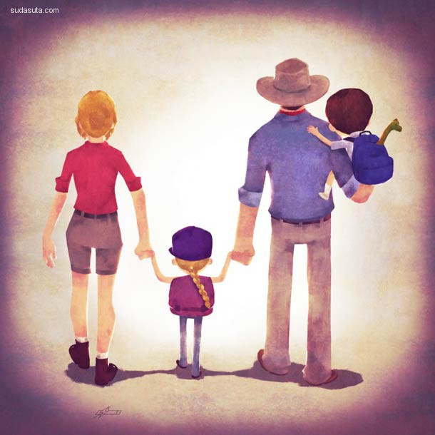 Andry Rajoelina 超级奶爸 系列插画欣赏