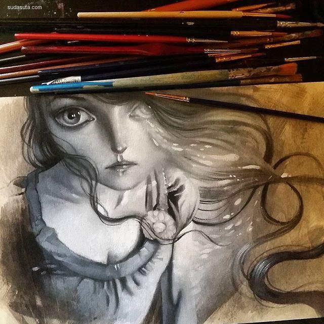 Ania Tomicka 手绘艺术欣赏