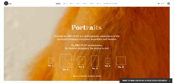 40+带有精美动画的网站设计欣赏