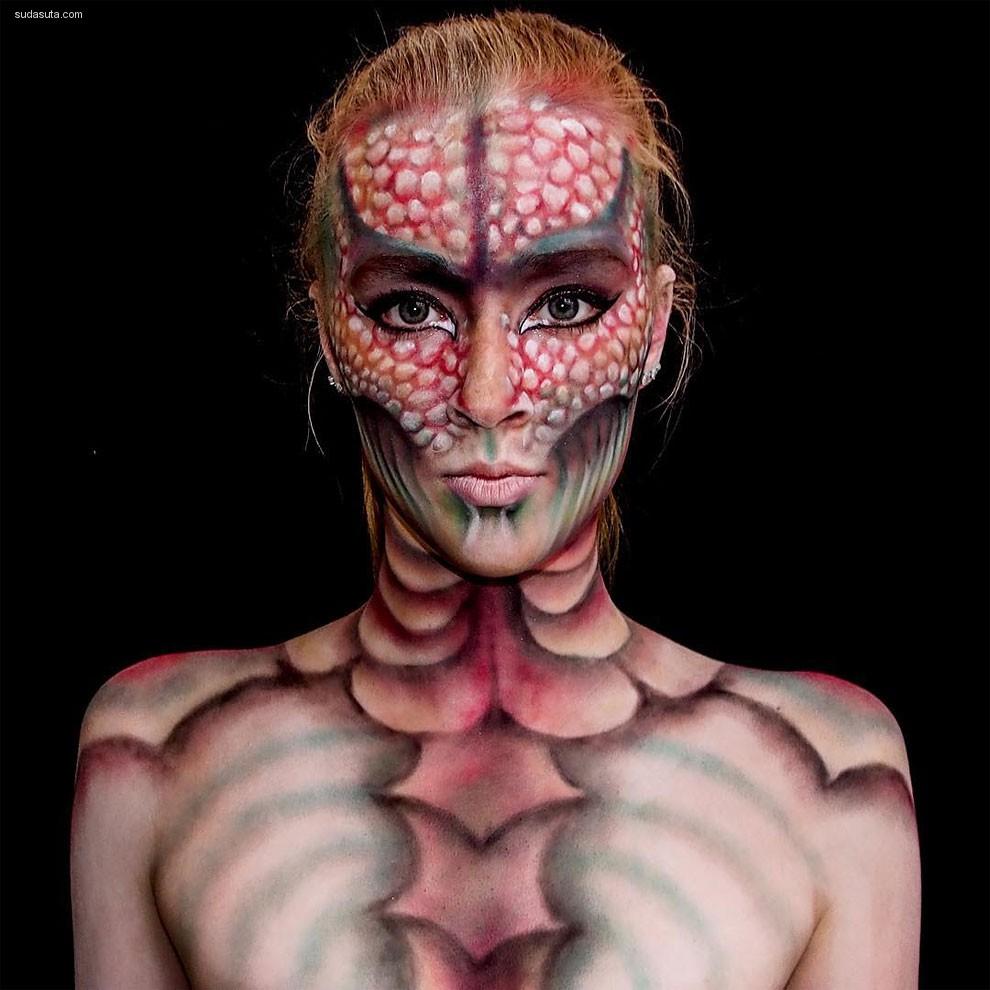 Lara Wiкth 彩妆设计欣赏