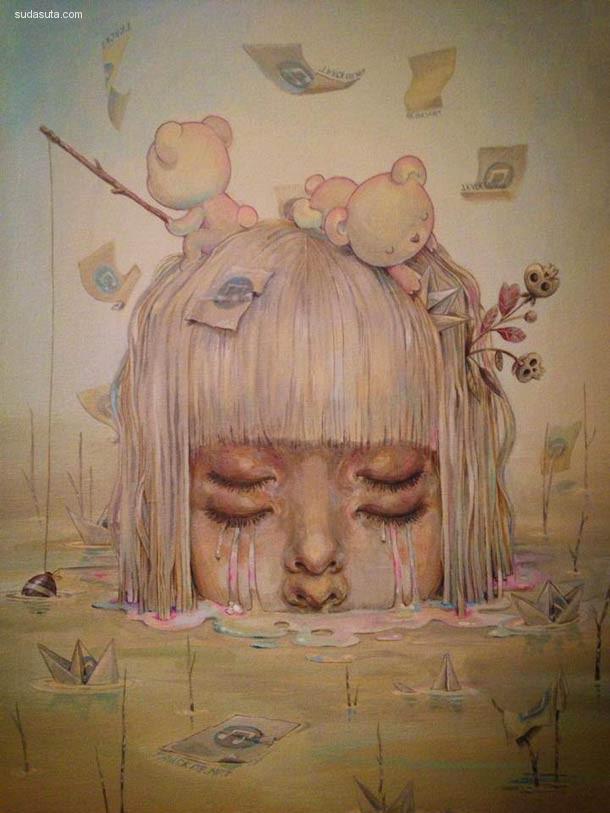 Chiara Bautista 个性插画作品欣赏