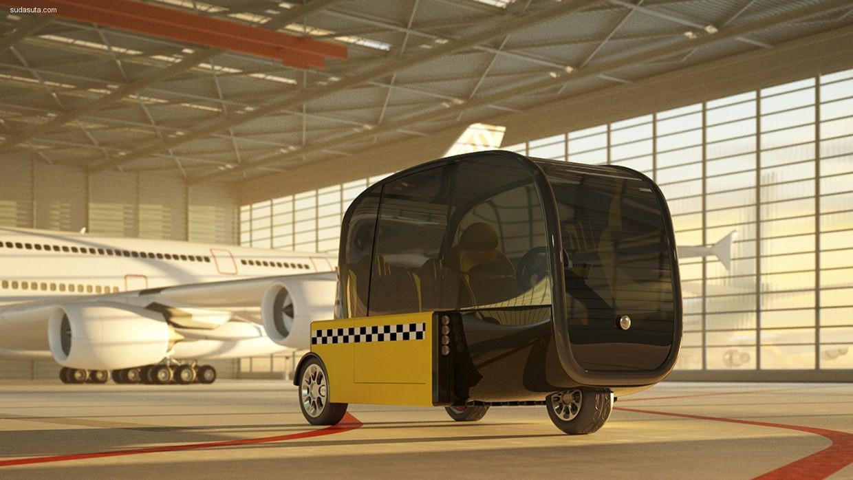 City Rover 产品概念设计欣赏