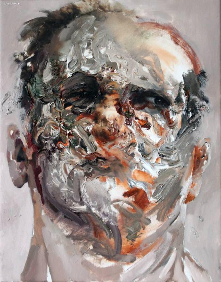Daniel Martin 抽象肖像插画欣赏