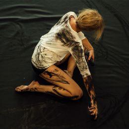 Heather Hansen 用身体作画