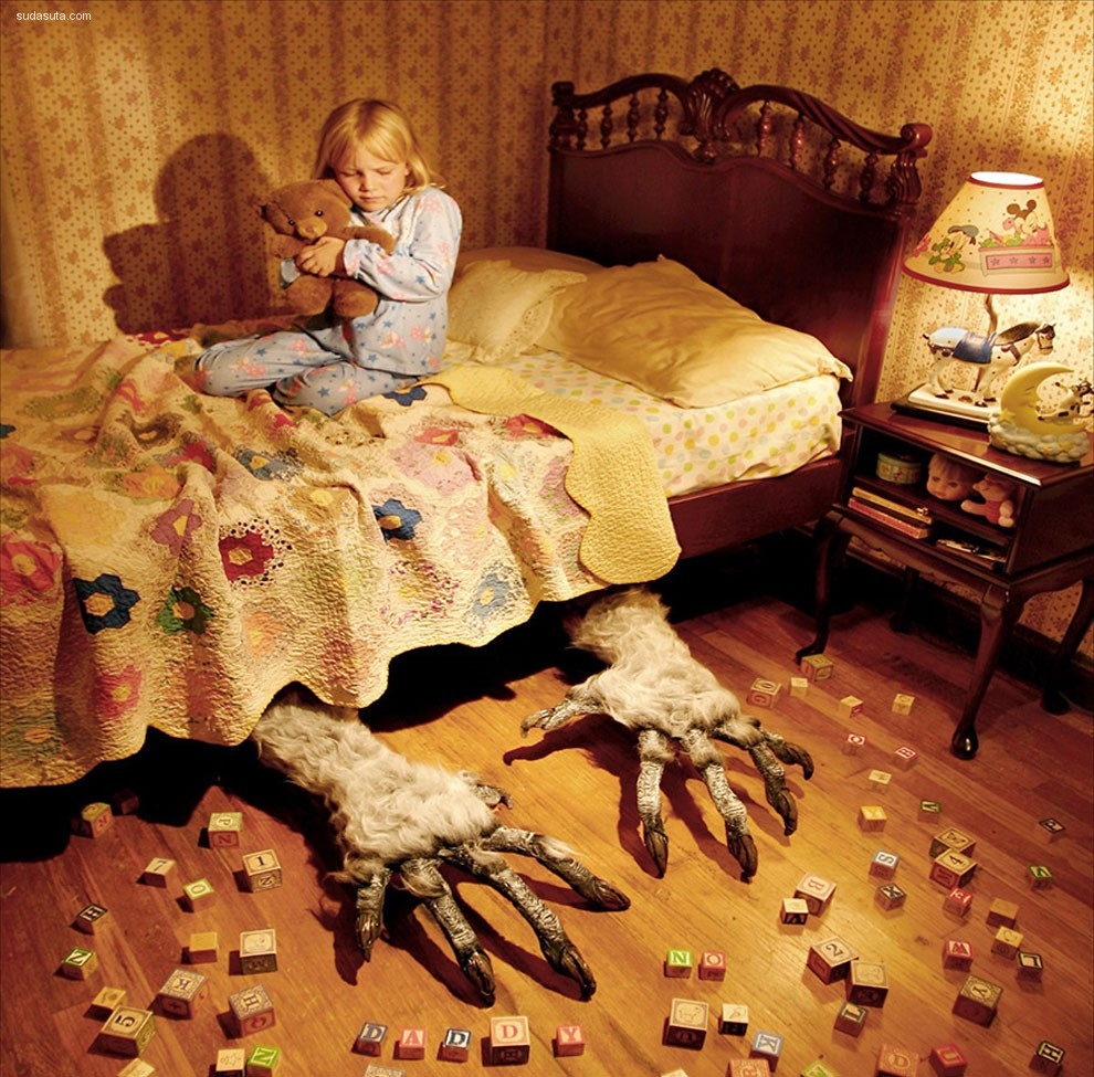 Joshua Hoffine 和他的恐怖故事