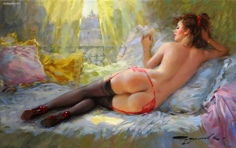 Konstantin 情色绘画欣赏