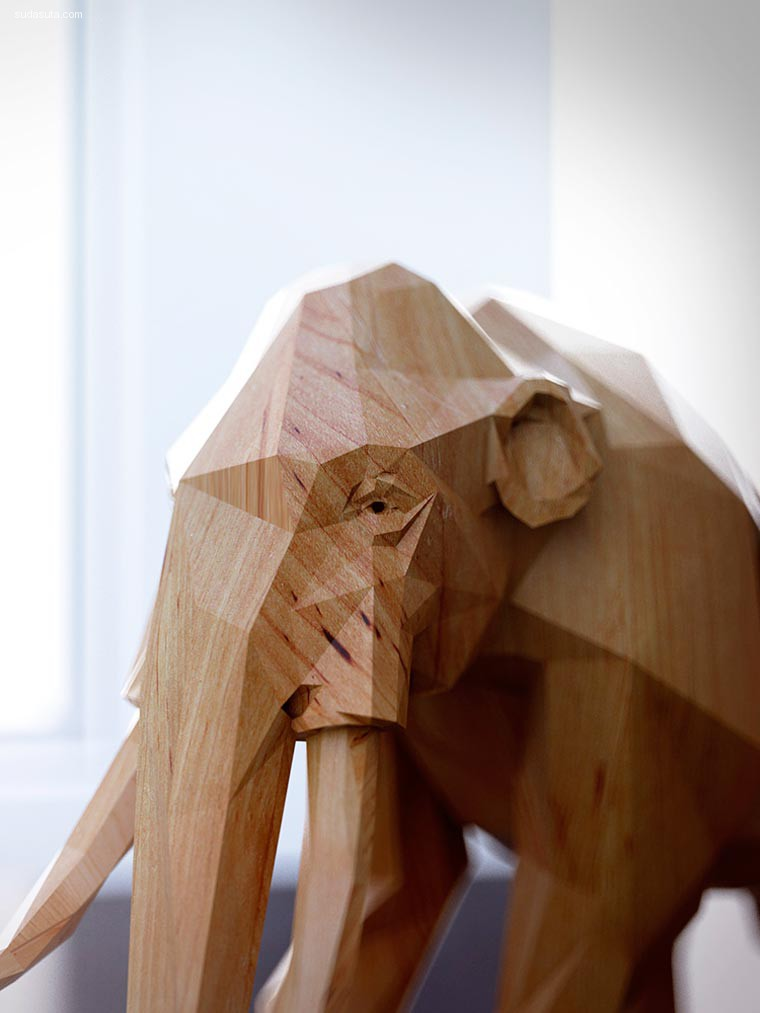 Mat Szulik 动物木雕
