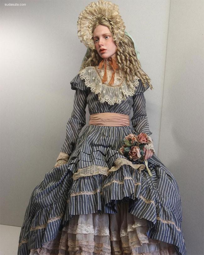 Michael Zajkov 手工娃娃设计欣赏