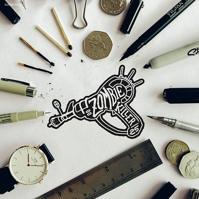 Mister Doodle 花体字设计欣赏