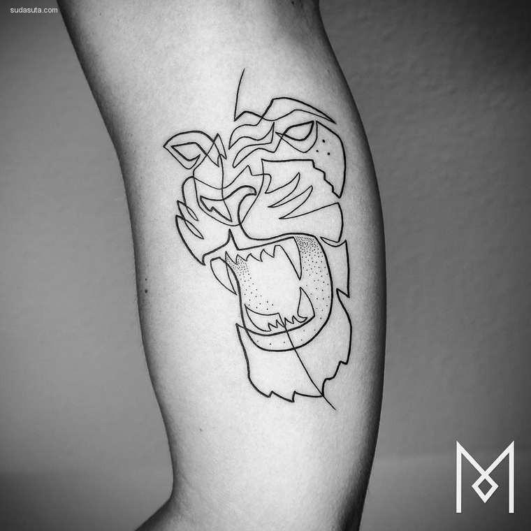MoGanji纹身图案设计欣赏周茂建筑设计作品图片