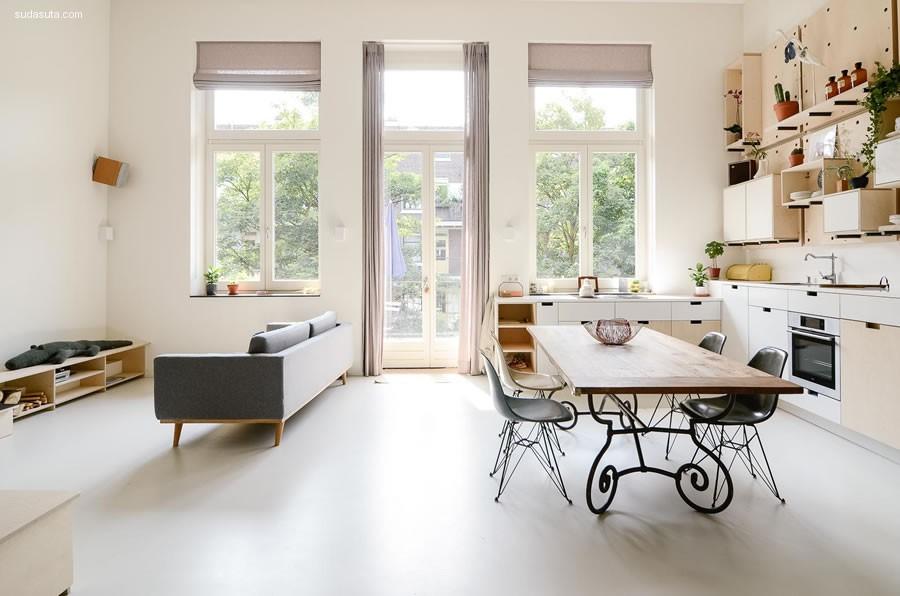 Ons Dorp 干净的室内设计欣赏