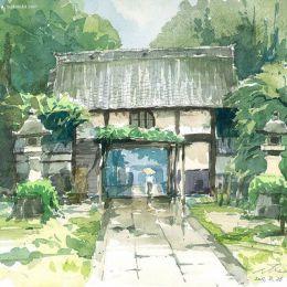 Osamu Shibata 水彩手绘插画速写