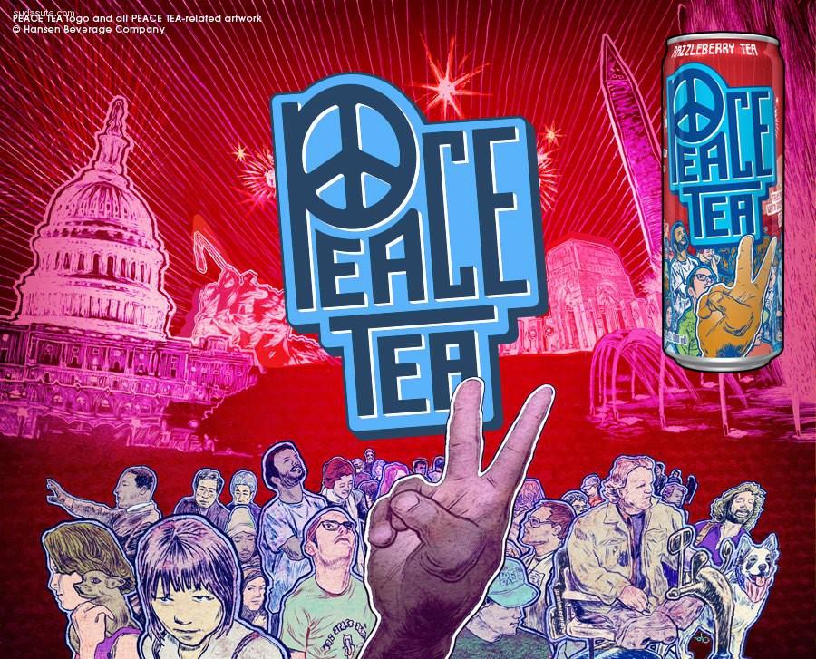 Peace Tea 品牌设计欣赏