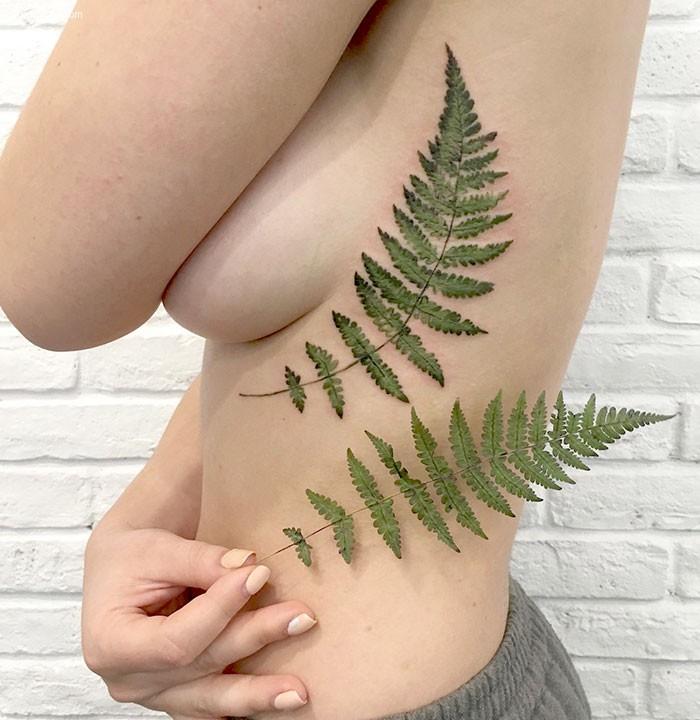Rit Kit 真实的植物纹身