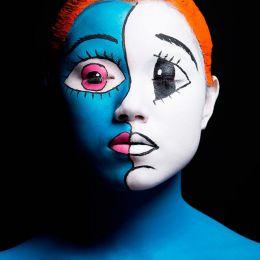 Clovis Lalanne 法国彩妆比赛
