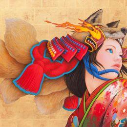 日本艺术家 Tamura Yoshiyasu