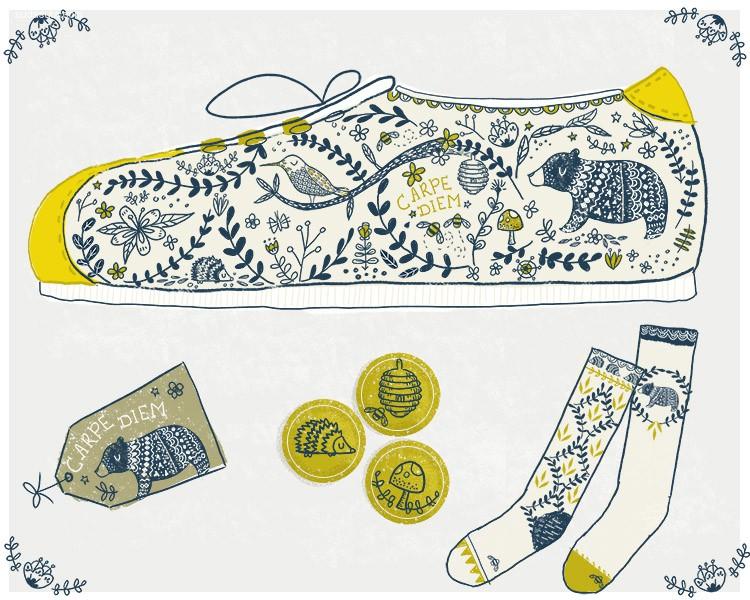 Ciara Panacchia 图形插画欣赏
