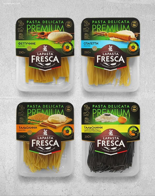 La Pasta Fresca 包装设计欣赏