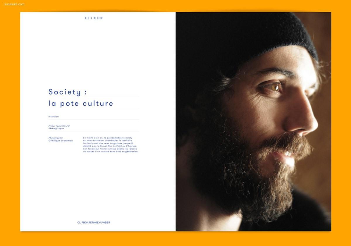 L'ADN 杂志设计欣赏