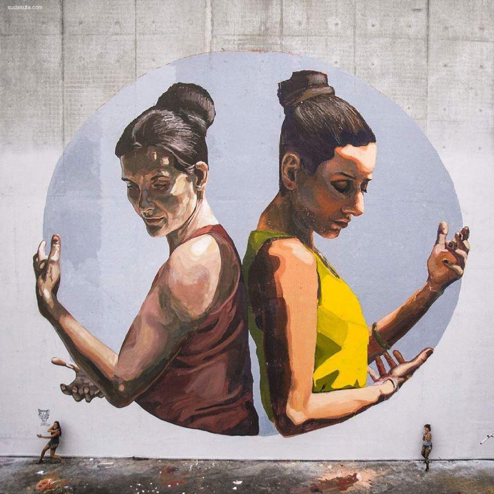 Milu Correch 街头绘画欣赏