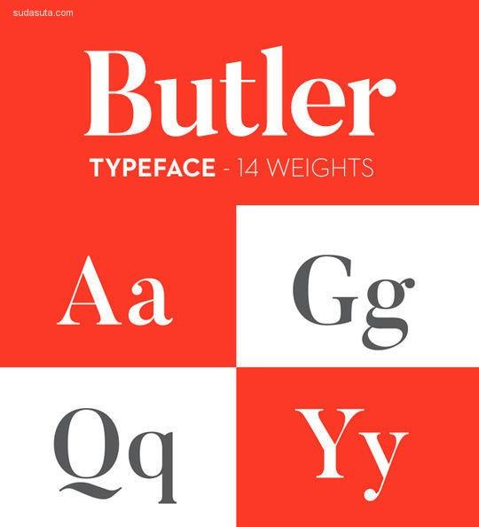 为设计师准备的12个最佳的免费英文字体