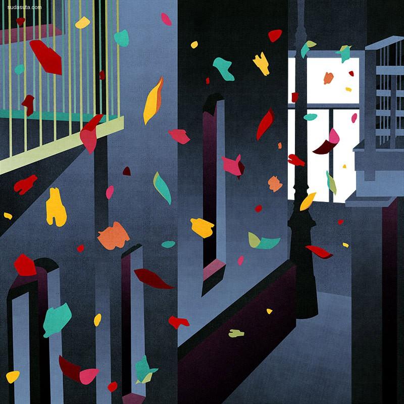 Stephanie F. Scholz 艺术插画欣赏