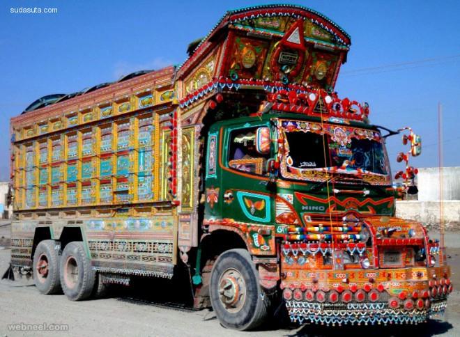 20个令人惊叹的卡车艺术