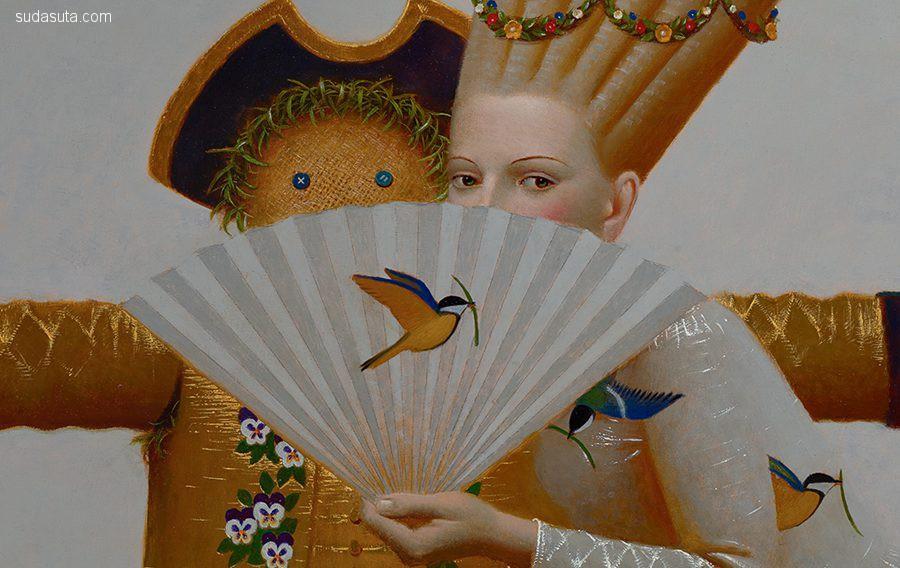Andrey Remnev 古典主义绘画艺术欣赏