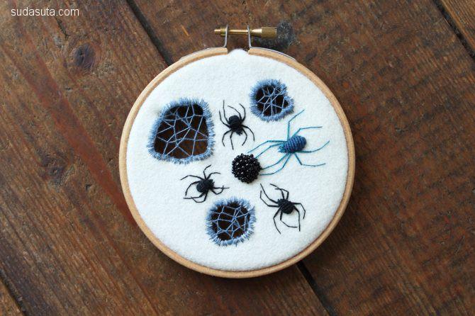 刺绣艺术家 Adam Pritchett