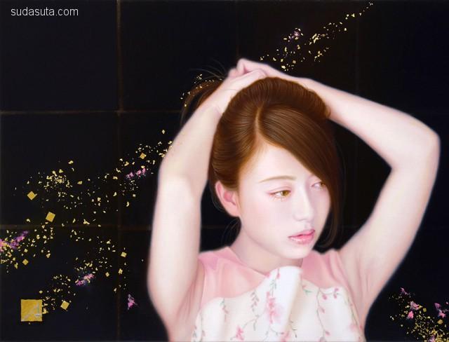 光元 昭弘 Akihiro Mitsumoto 肖像插画欣赏