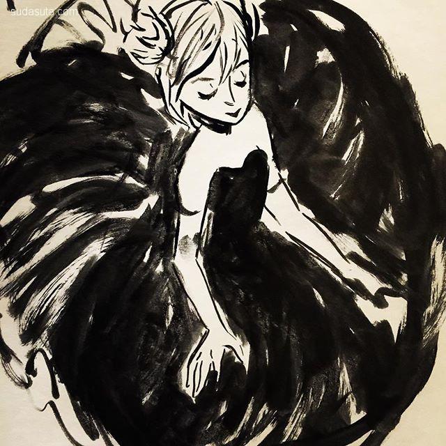 Andrea Fernandez 手绘插画欣赏