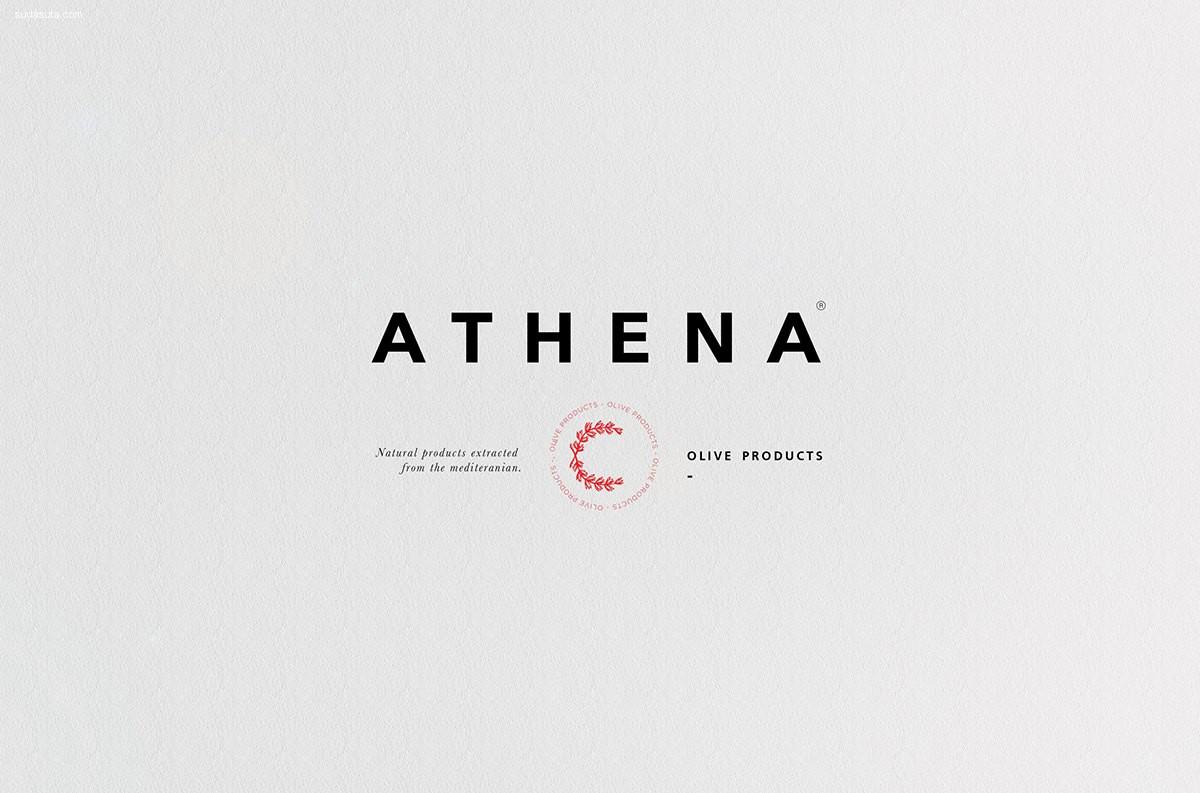 Athena 品牌设计欣赏