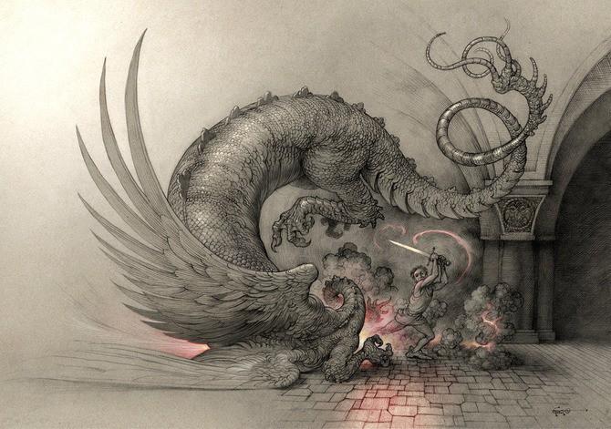 Boban Savic Geto 传奇插画欣赏