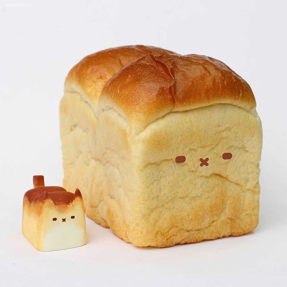 Rato Kim 可爱蠢萌的面包猫