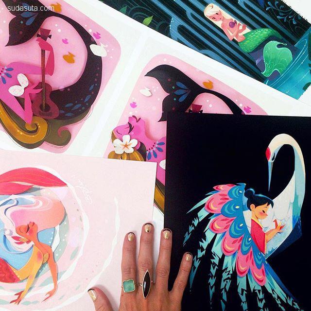 Brittney Lee 纸张艺术及卡通漫画欣赏