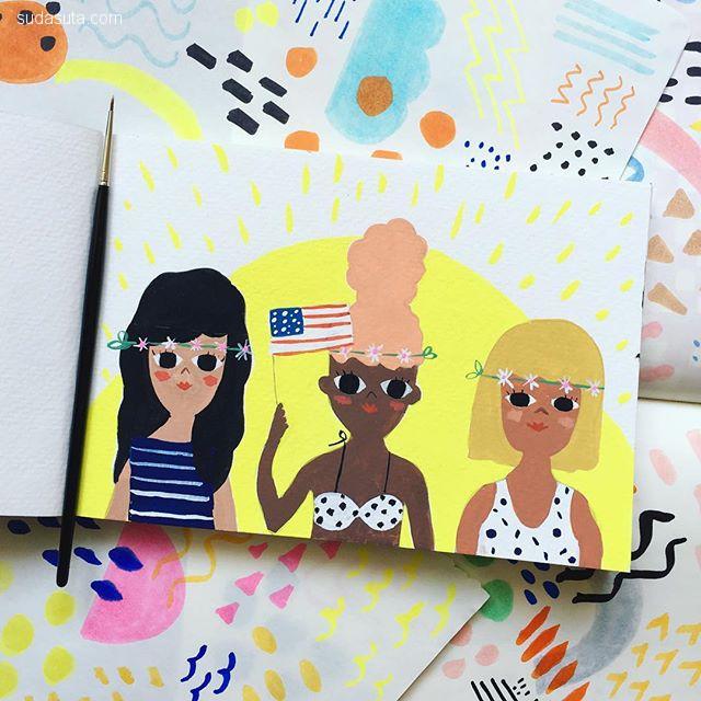 Carolyn Suzuki 卡通图案设计欣赏