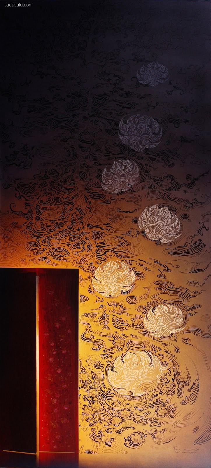 Chatchawan Rodklongtan 绘画艺术欣赏