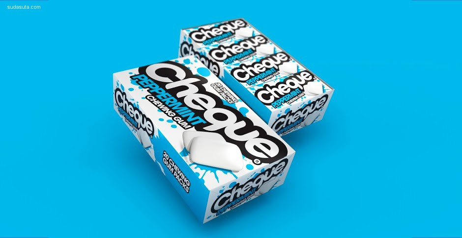 Cheque Gum 美食包装设计欣赏
