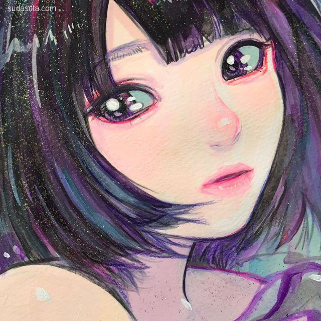 巽 千沙都 / Chisato Tatumi 色彩绚丽的少女漫画