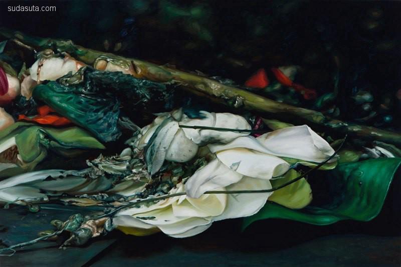 Cindy Wright 蝴蝶与骷髅