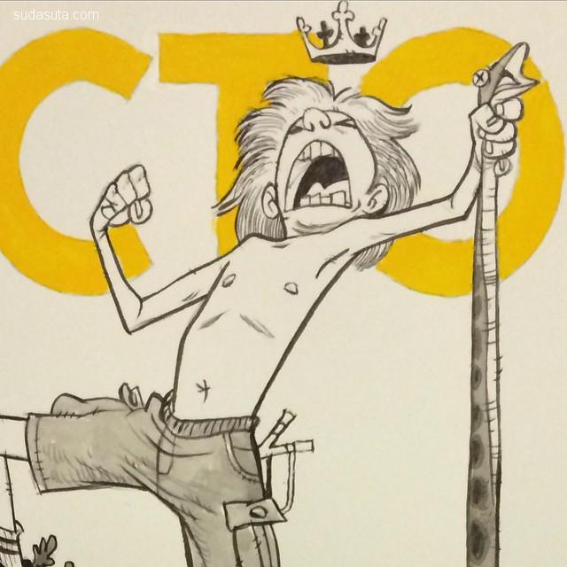 Cory Loftis 卡通漫画欣赏