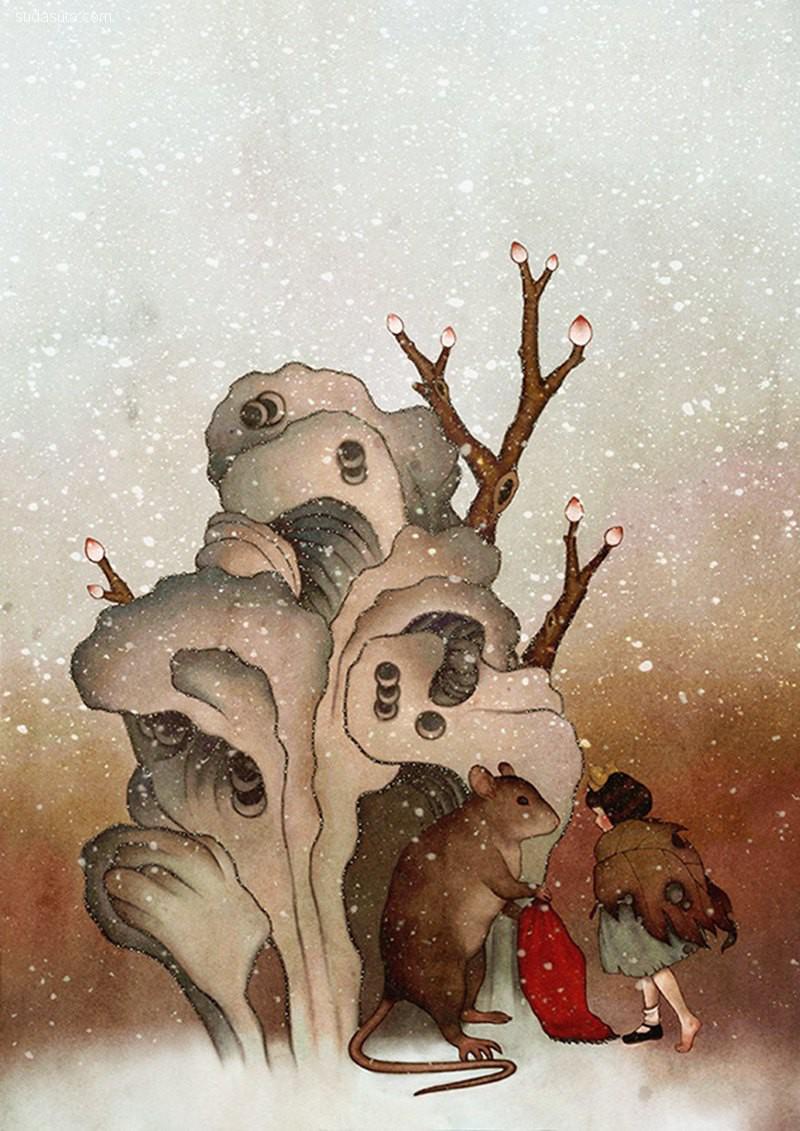 순다은(Dani Soon) 超现实主义绘画艺术欣赏