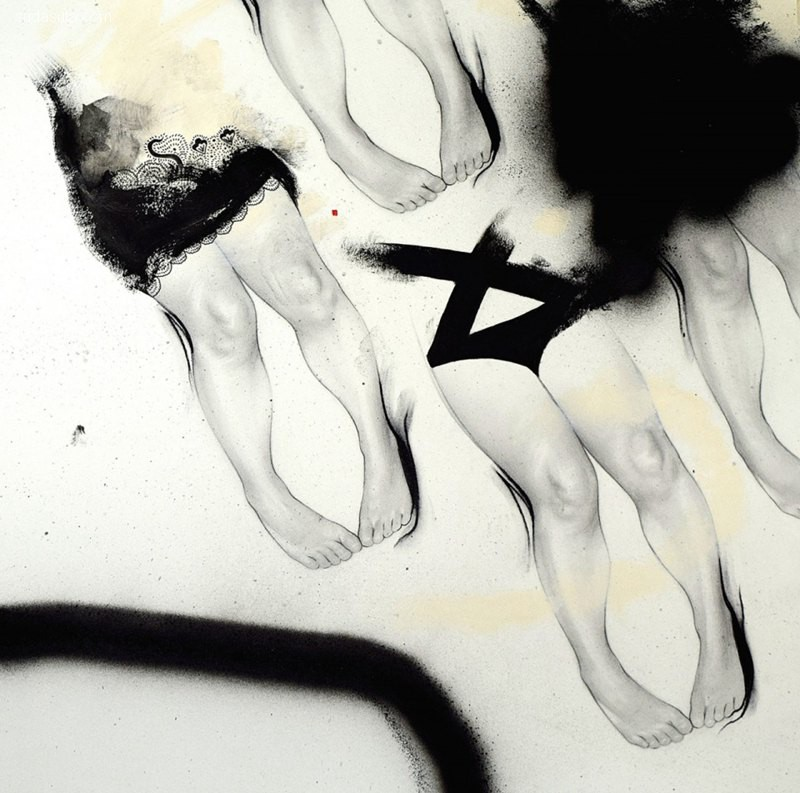 Daniel Segrove 人像自画像 手绘速写欣赏