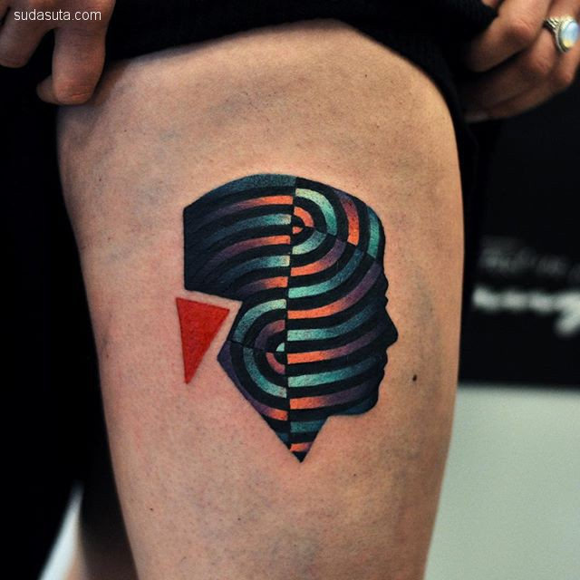 纹身设计师 David Cote 潮流设计作品