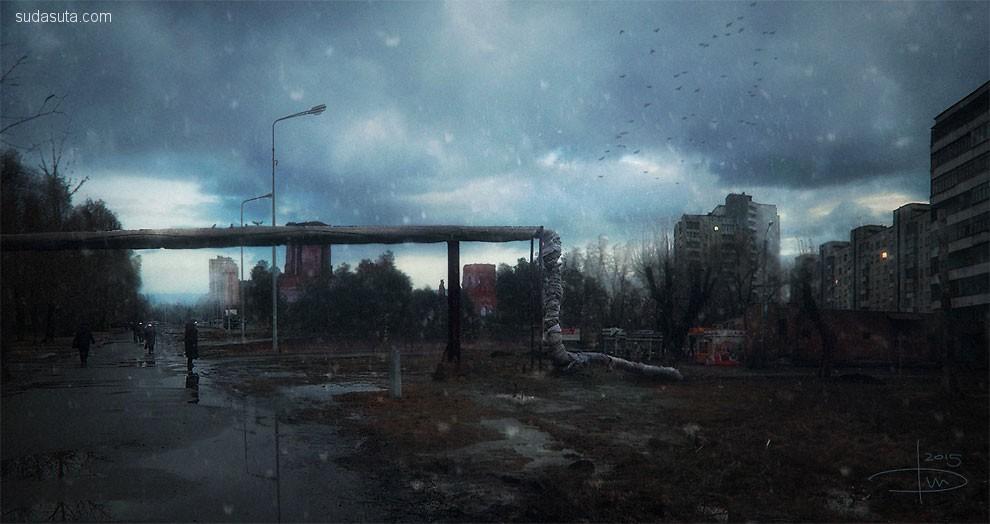 Dmitry Bogolyubov 幻想插画欣赏