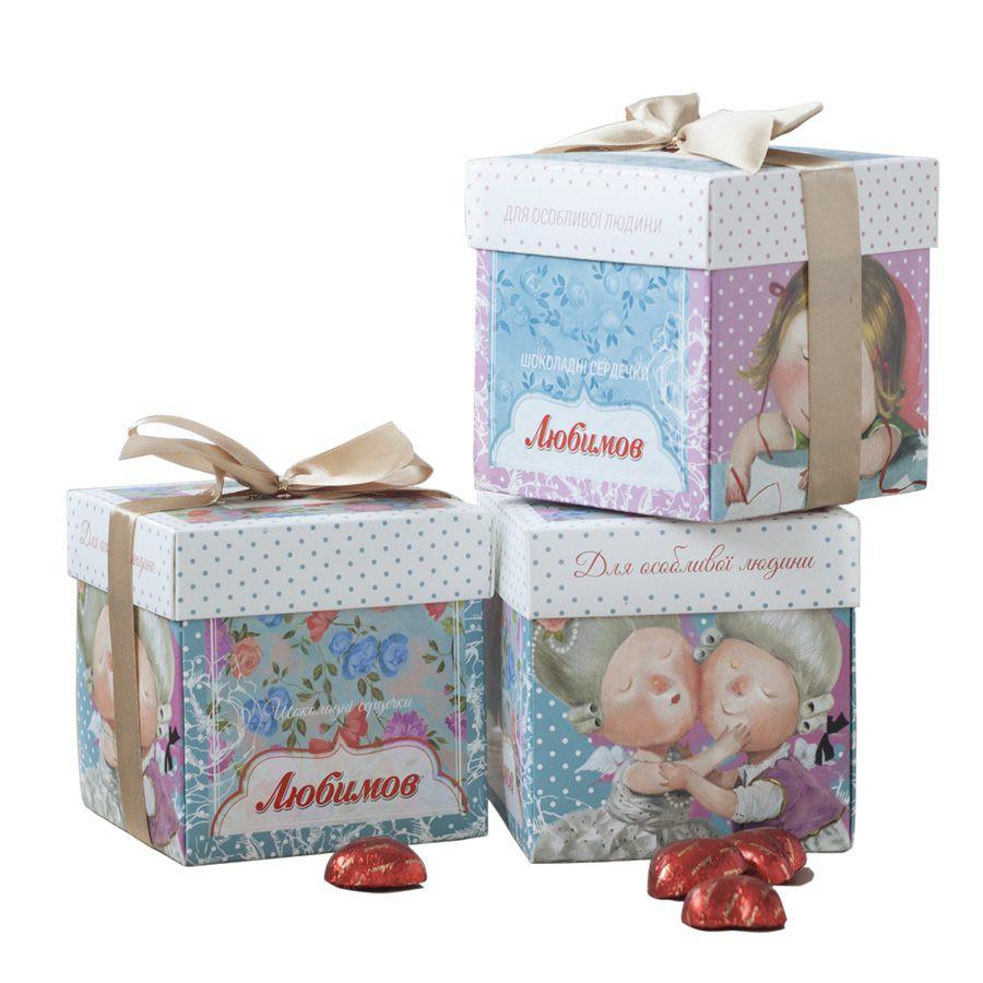 GAPCHINSKA 甜美而可爱的巧克力包装设计欣赏