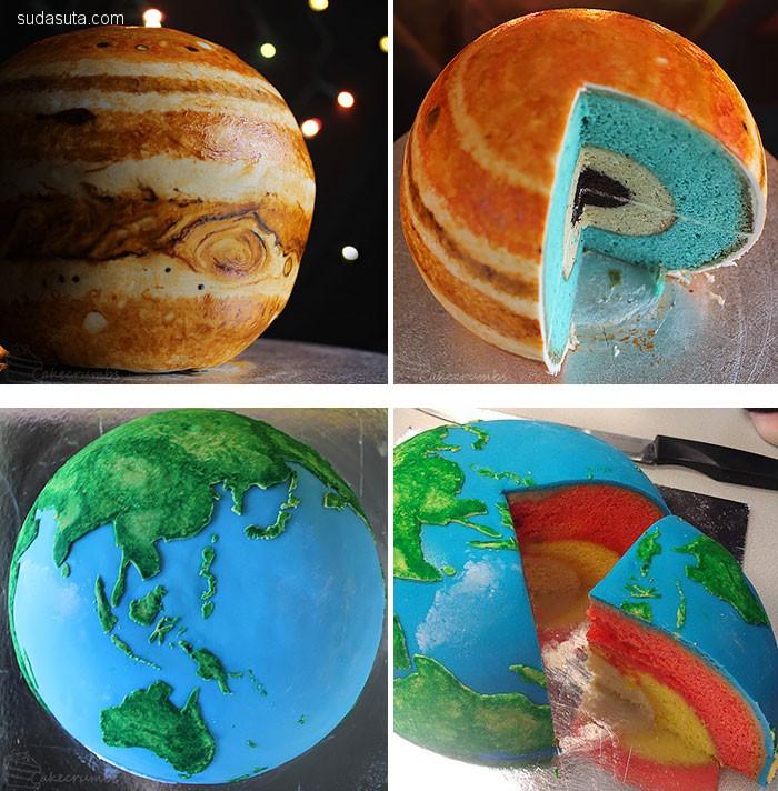 世界美食欣赏 星球甜甜圈