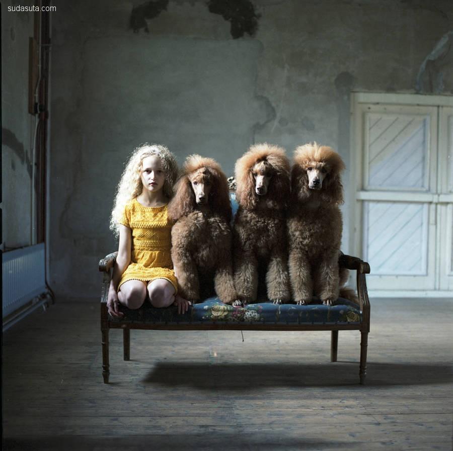 Hellen Van Meene 孩子们的肖像画