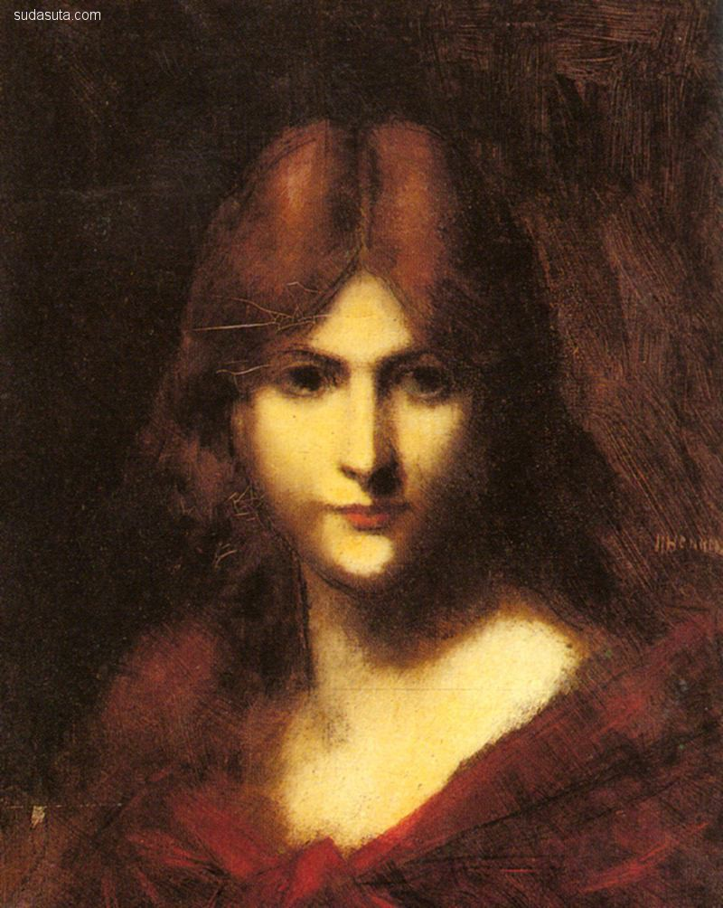 Jean-Jacques Henner 绘画艺术欣赏